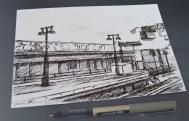 'Platform' Postcard, 2014