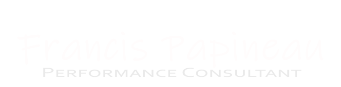 Francis Papineau Performance Consultant