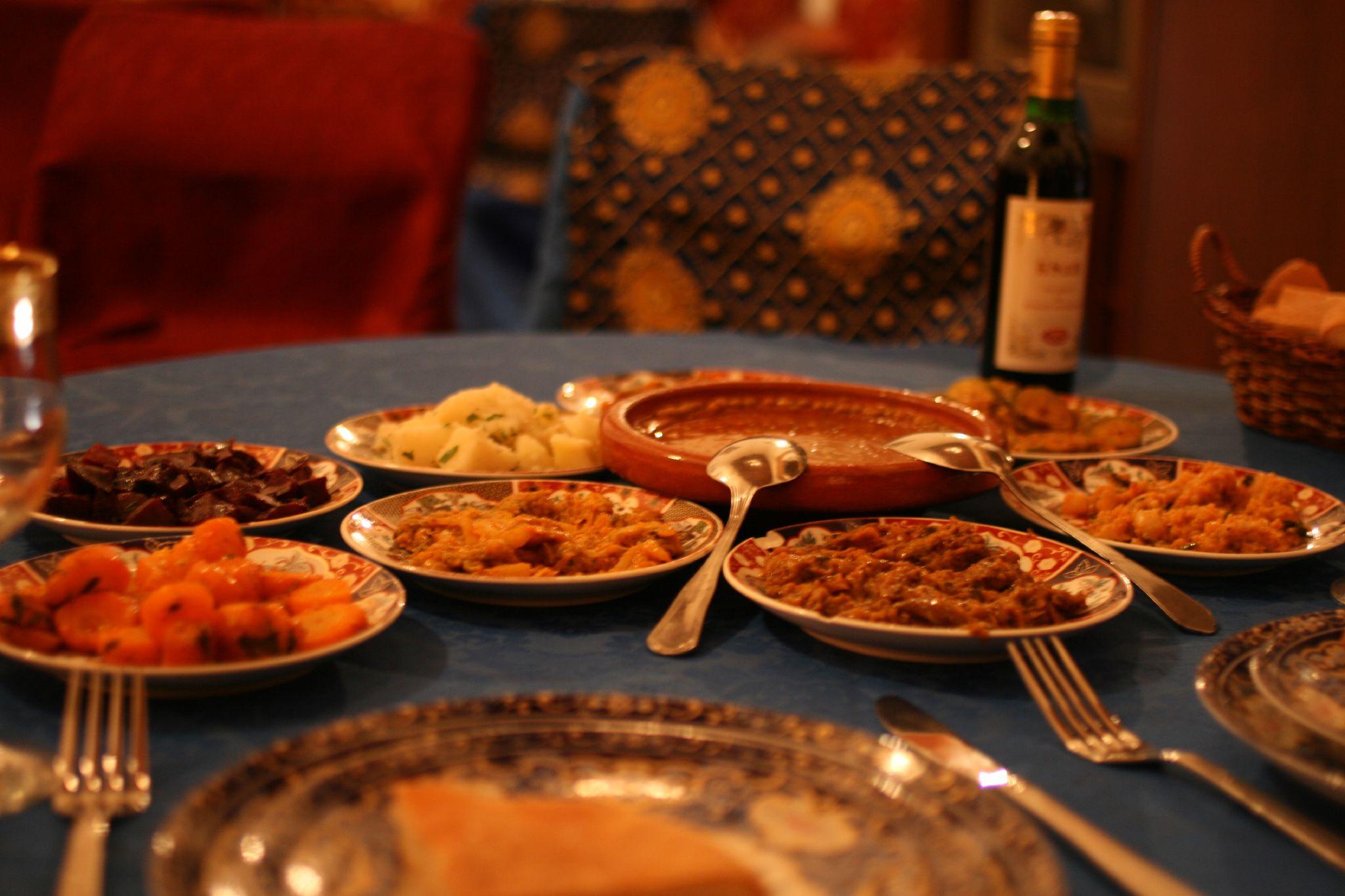 Morocco Street Food or Cafes  Restaurants  Africa