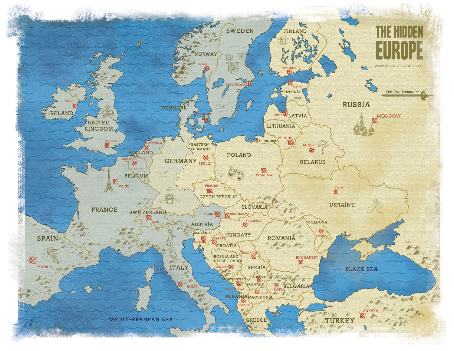 Where Is Eastern Europe And What Countries Are In It