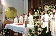 Pierwsze śluby u kapucynów 2010 – Eucharystia