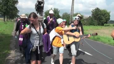 Pół dnia na franciszkańskiej pielgrzymce
