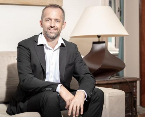portrait en intérieur Matthieu Chapuis