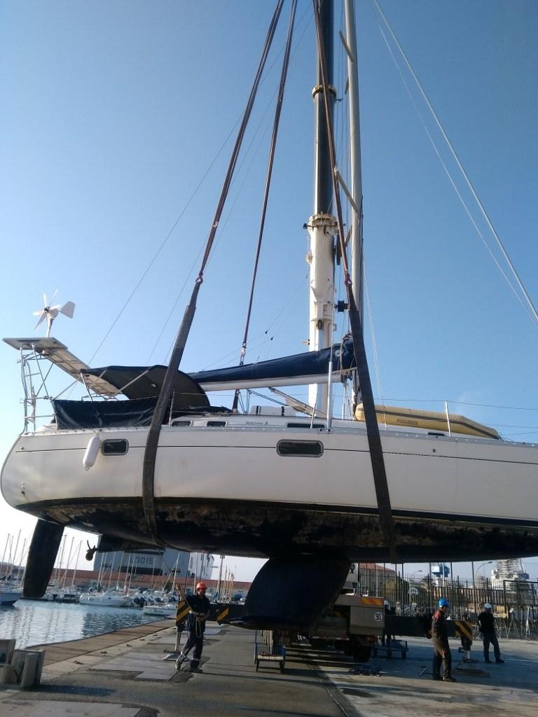 grutage bateau