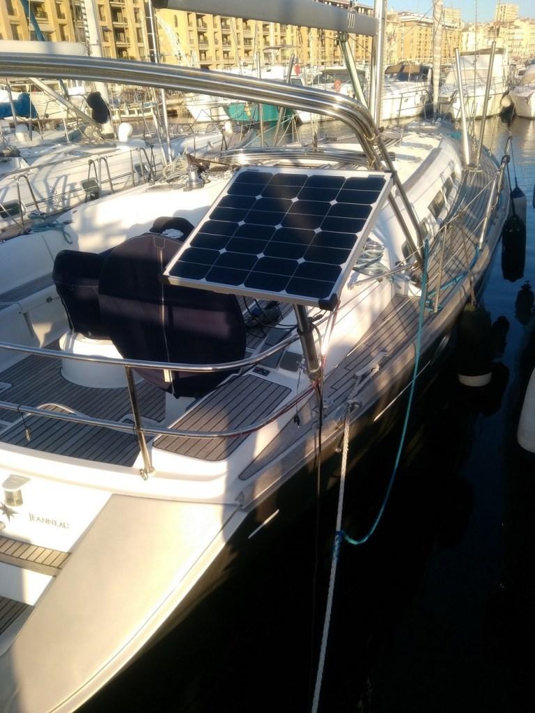 panneau solaire bateau plaisance