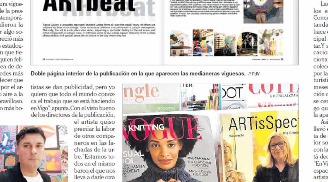 Artigo Faro de Vigo