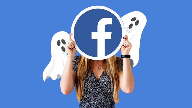 Facebook limiter audience anciennes publications hanté fantômes