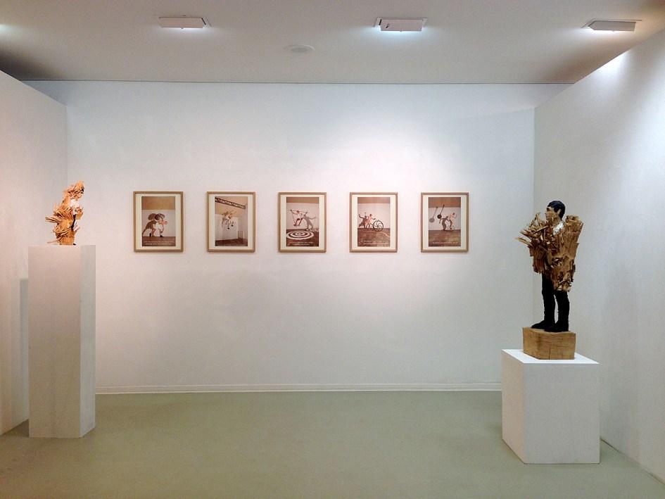 "François Delebecque, Exposition ""Human Phantasy"", Galerie STP (Greifswald, Allemagne)"