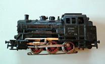 Locomotive charbon