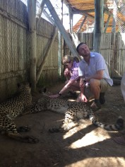 Adrian might be done with the cheetahs.