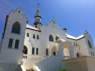 This is the Dutch Reformed Church in Swellendam