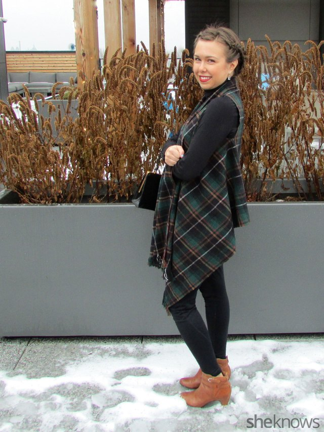 Blanket Vest Tutorial via She Knows | Francois et Moi