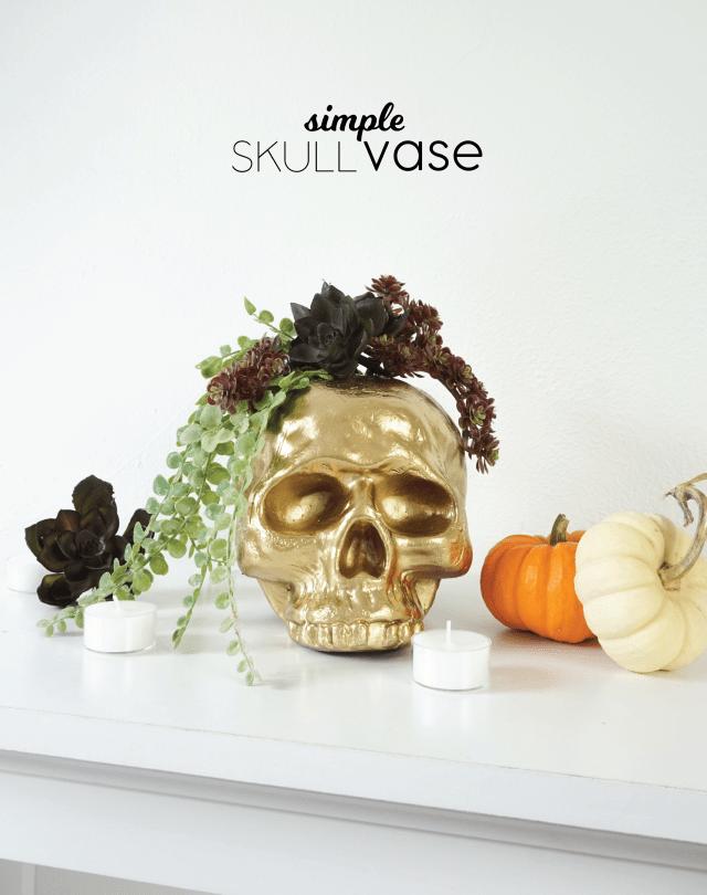 Skull Vase DIY | Francois et Moi
