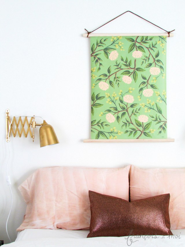Top DIY Projects of 2015: Botanical Wall Hanging | Francois et Moi