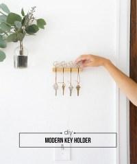 DIY Modern Key Holder - Francois et Moi