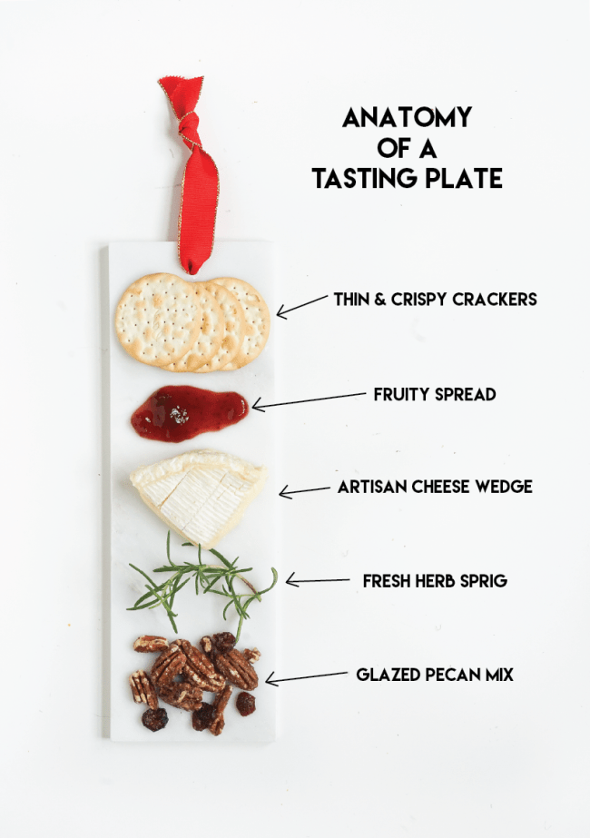 Make these marble tasting plates as an alternative to the standard free-for-all cheese plate! Click for the full tutorial!