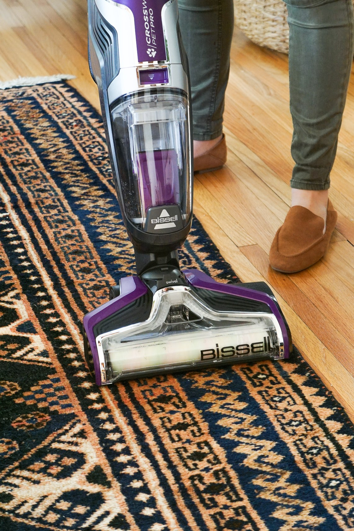 Cleaning the house isn't exactly my most favorite thing to do, so I'm sharing how I've streamlined our daily cleaning routine.