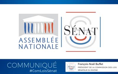 Communiqué : accord de la Commission mixte paritaire sur le report des élections régionales et départementales en juin 2021