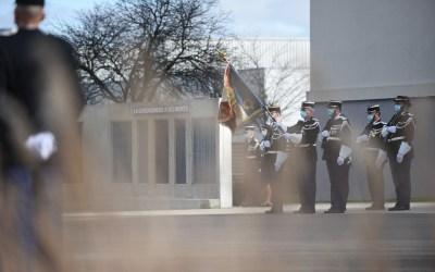 16 février 2021 – Cérémonie d'hommage aux militaires de la Gendarmerie Nationale décédés en 2020 dans l'exercice de leurs fonctions