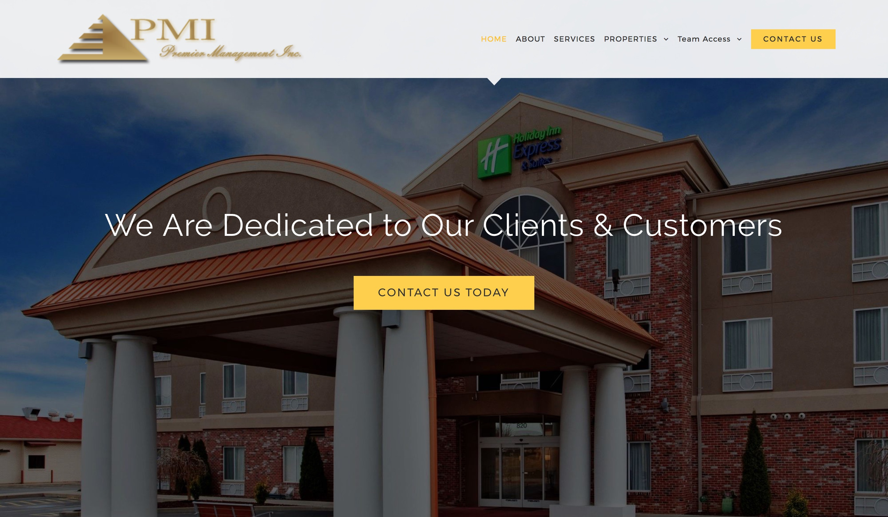 Premier Management Inc – Website