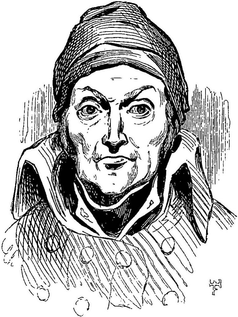drawing of Nicolas Appert