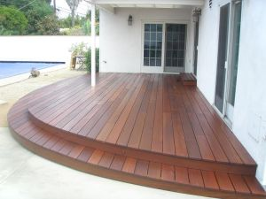 Wood Patios & Decks