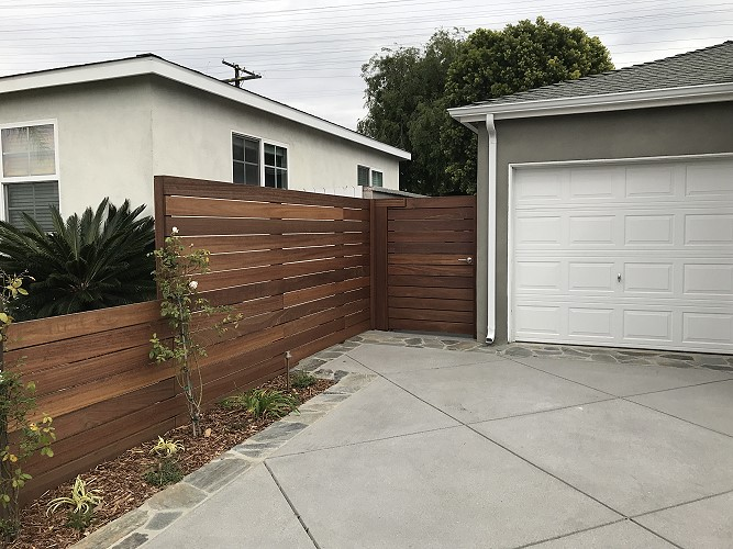 wooden fence installation LA