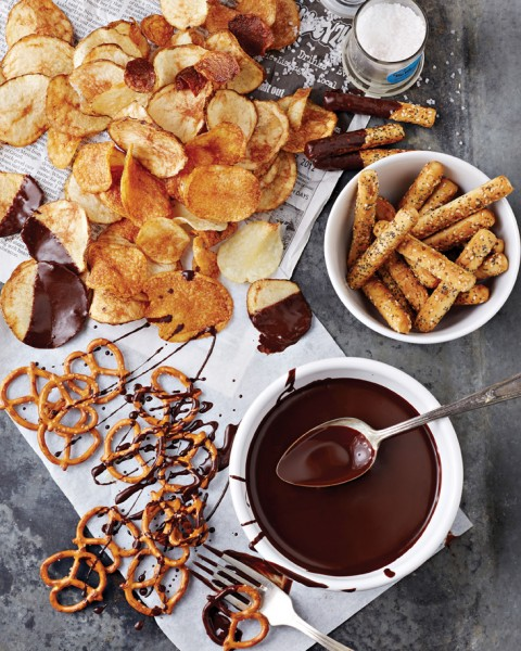 Fran Costigan's Chocolate Olive Oil Glaze for Everything