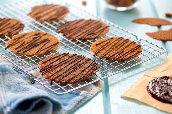 The Recipe for the Thin & Crispy Vegan Gluten-Free Cookie!