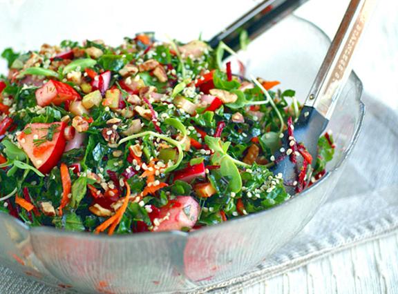 Ricki Heller's As You Like It Kale Salad
