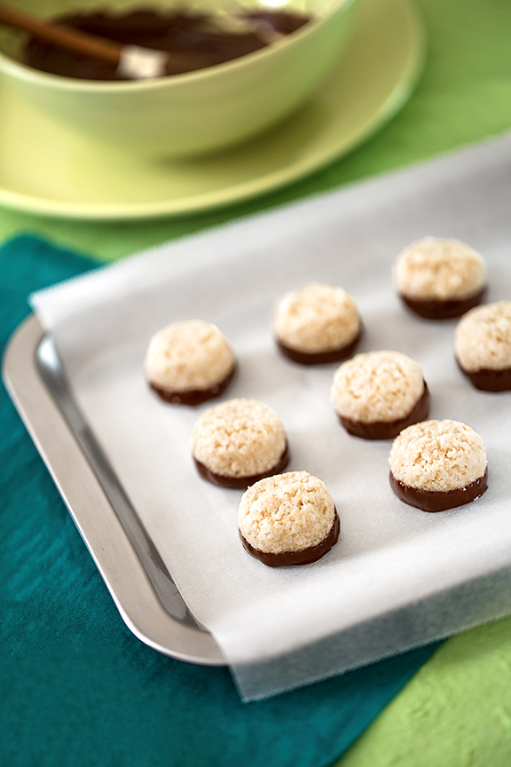 Chocolate-Dipped-Coconut-Macaroons