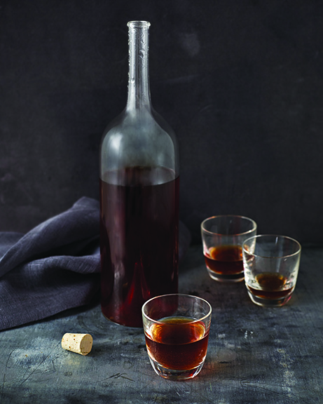 Chocolate Vodka from Vegan Chocolate by Fran Costigan