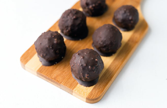 Almond Tahini Truffles from Superfoods 24/7 by Jessica Nadel. Photo by Jackie Sobon