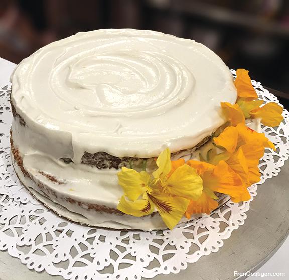 Vegan Carrot Cake for Easter