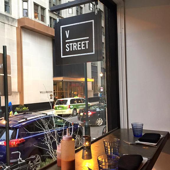V Street Window