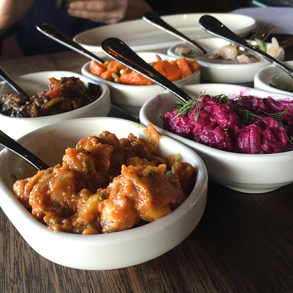 Vegetable Dishes at Zahav