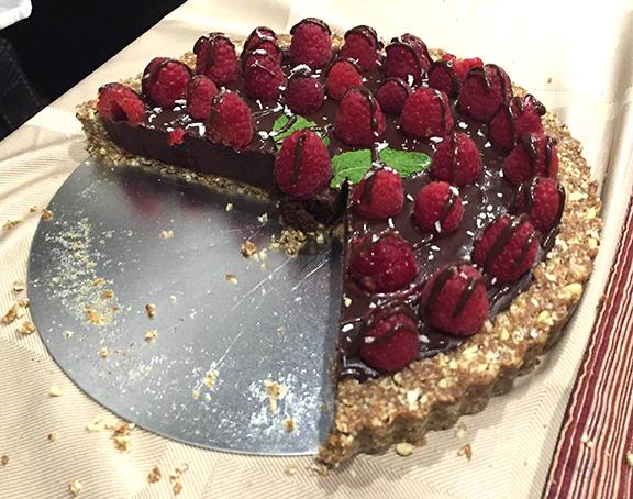 Chocoalte Raspberry Pie