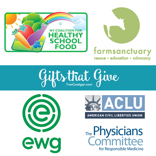 Fran Costigan's 2016 Vegan Holiday Gift Guide – Gifts that Give