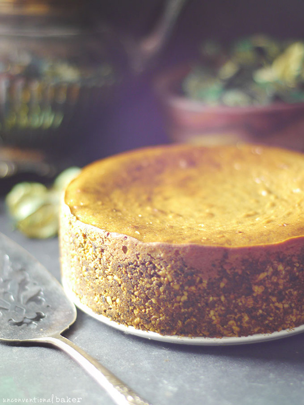 An Unconventional Baker's Easy Baked Cheesecake