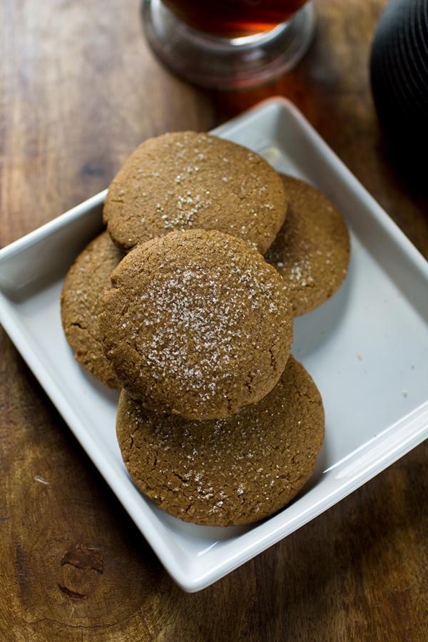 Brandi's Vegan Coconut Butter Gingersnaps