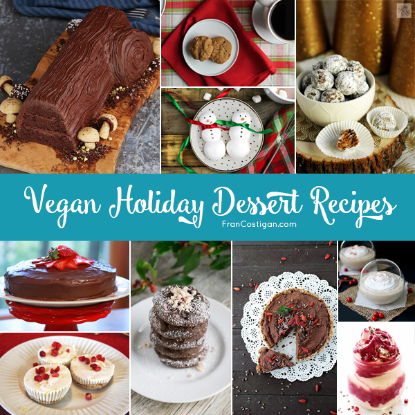 Vegan Holiday Dessert Recipes