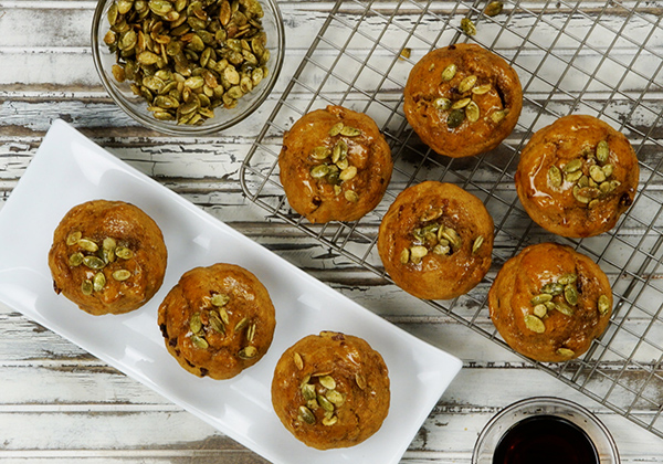 Fran Costigan's Zucchini Muffins with Pistachios