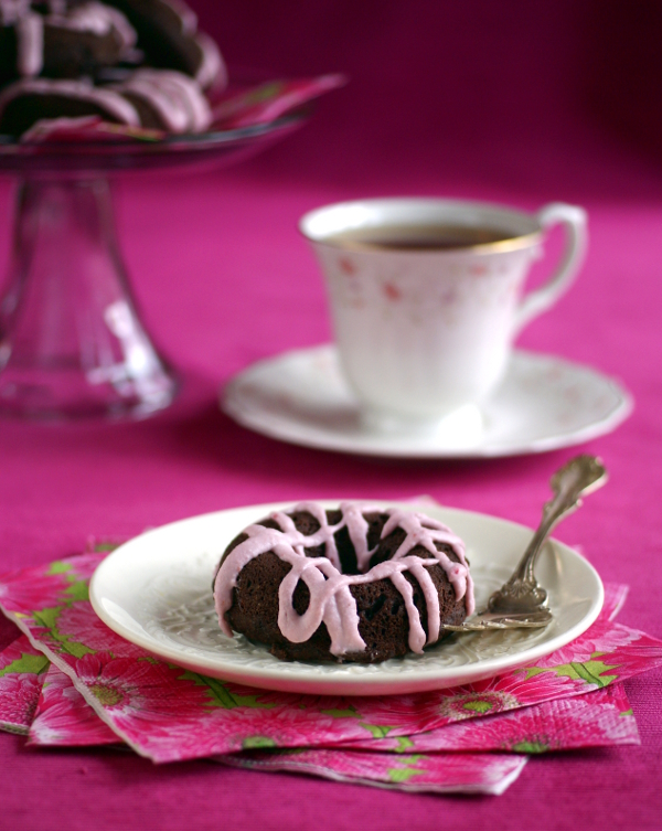 Ricki Heller's Chocolate Potato Cake Donuts