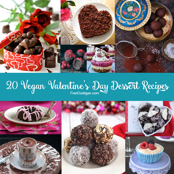 20 Vegan Valentine's Day Dessert Recipes