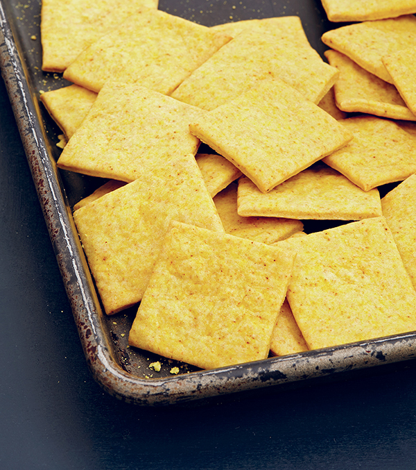 Veganize It Cheesy Crackers