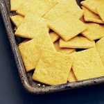 Cheesy Crackers from Veganize It by Robin Robertson