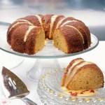 Big Orange Vegan Bundt Cake for Easter