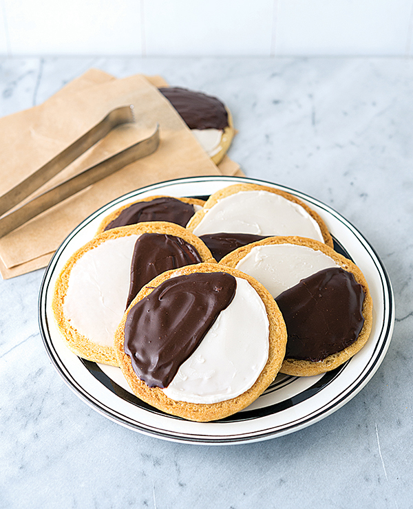 NYC Vegan Black and White Cookies