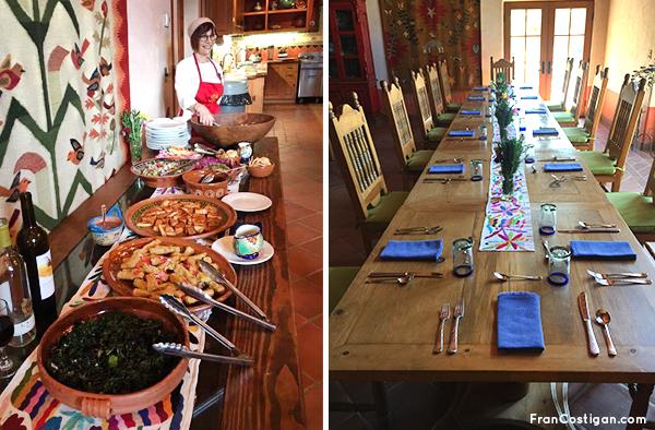 Dinner at Rancho La Puerta