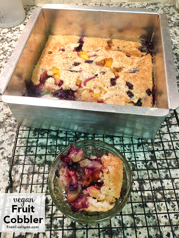 Fran Costigan's Vegan Fruit Cobbler